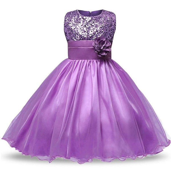 d025bdc760c6d Alda- Embroidered Lace & Tulle Party Dress – NewBabyChic.com