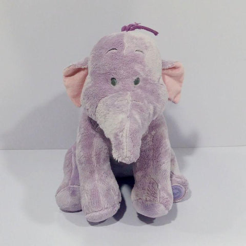 Newbabychic Original Lumpy Purple Elephant Cute Soft Stuff Plush Toy Baby Birthday