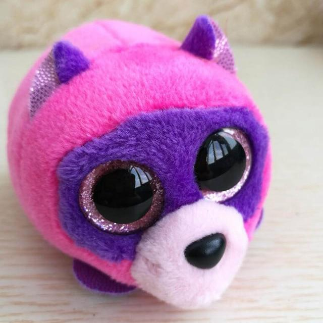 Icy the Seal 9 cm Big Eyes Plush Toy Doll Purple Panda Baby Kids Gift Mini Toys