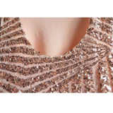 Pink Patchwork Sequin Grenadine Condole Belt Fashion Vest