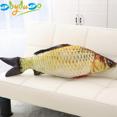 1pc Fashion Simulation Carp Stuffed Fish Plush Toys Pillow Kids Creative Sofa Bed Pillow Appease Baby Kids Toy Christmas Gift