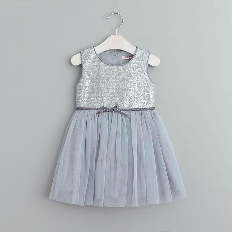 Girl Dresses Princess Dresses Children Clothing Girls Clothes Sequins Party Dresses Children's Clothing