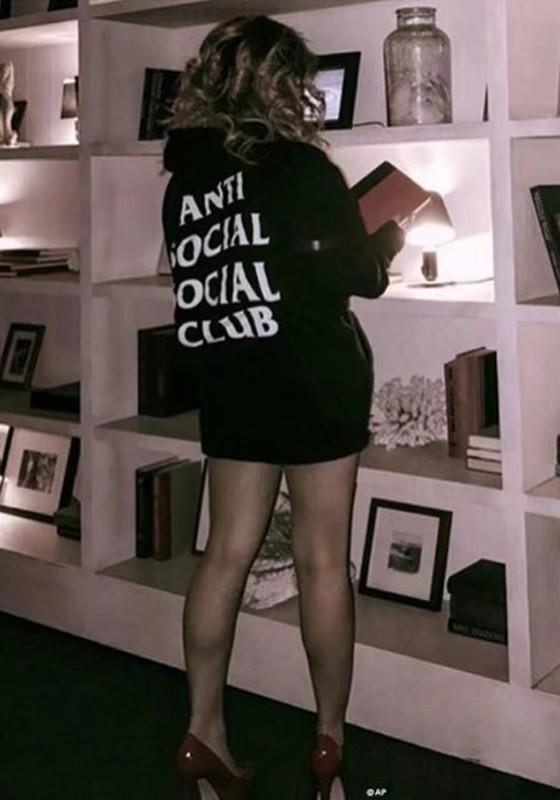 Black Letter Drawstring Cap Hooded Homecoming Long Sleeve Casual Boyfriend Sweatshirts