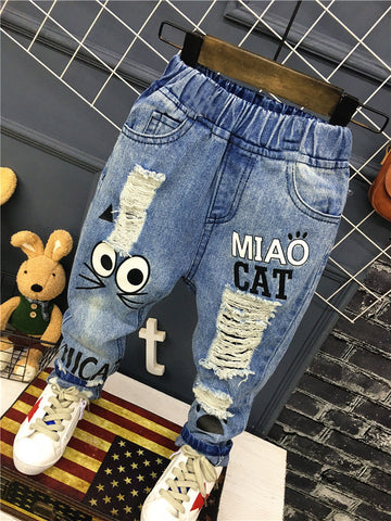 Boys Casual Denim Pants