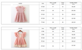 Girls Dress New Summer Brand Girls Clothes Lace And Ball Design Baby Girls Dress Party Dress For 3-7 Years