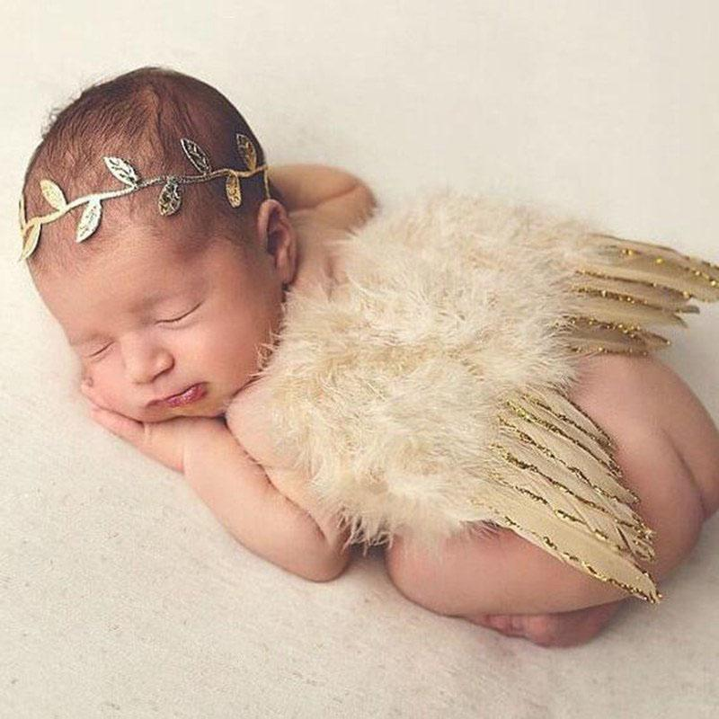 Angel Wings Baby Photo Props For Girls and Boys Kids Now Apparel