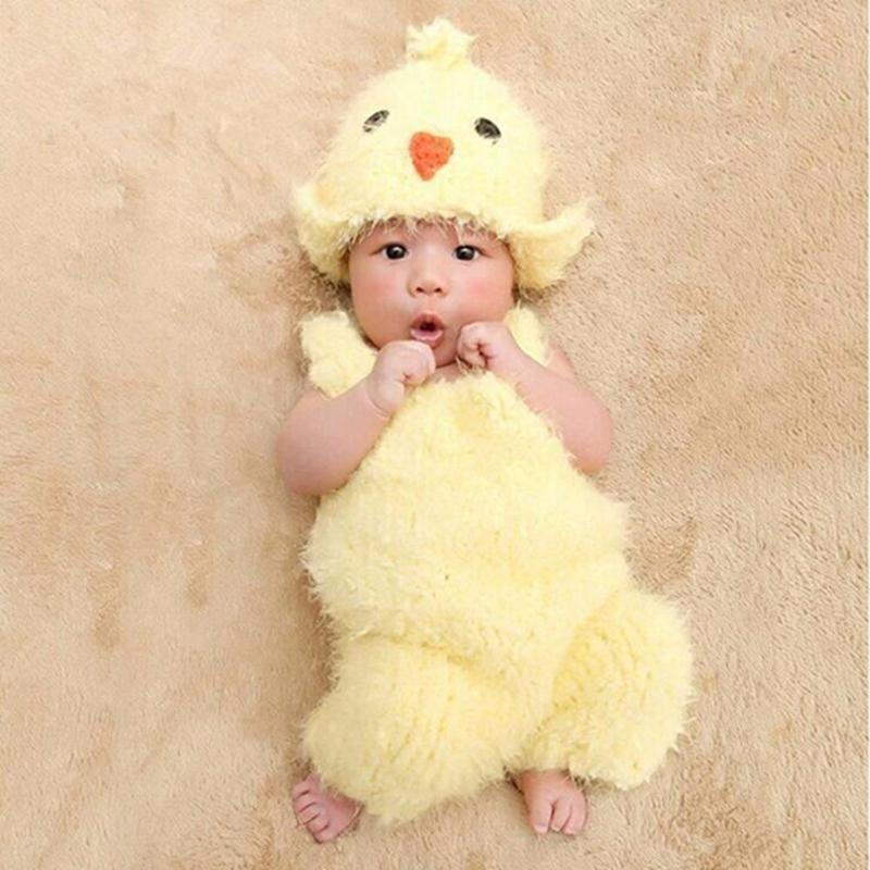 Cute Chicken Hat+Suspenders Set Kids Photography Outfit Kids Now Apparel