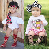 Fashion Leather Boho Summer Toddler Leather Sandals Kids Now Apparel