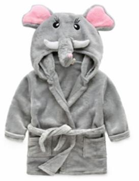 Winter warm,pajamas kids,Baby boys girls robe,bath robes,children clothing cartoon Bathrobe pijamas cloak nightgown