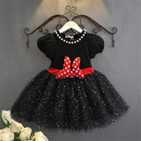 Cute Baby Girl Birthday Dress Cartoon Party Fancy Costume For Girls Sequins Tutu Children's Girl Clothing 3-8 Years Christmas