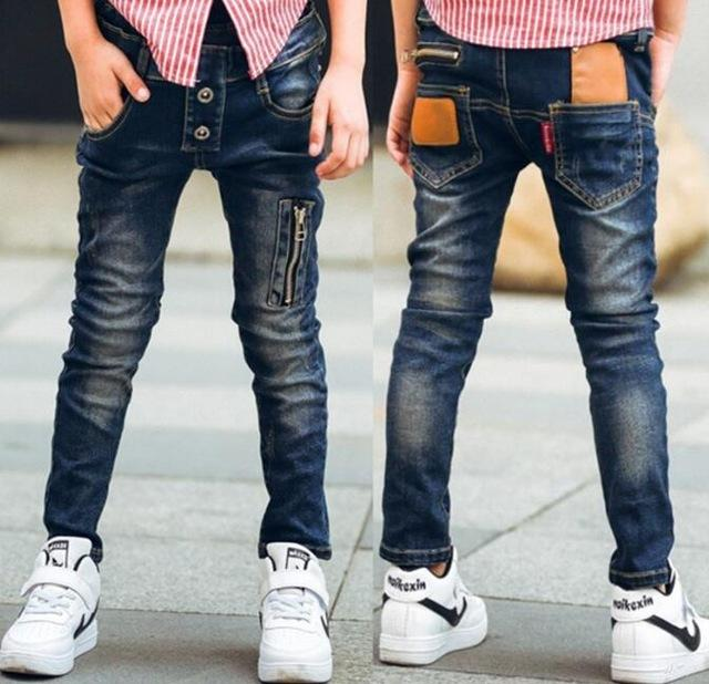 Boys Long Jeans Pants