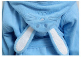 Hooded Towel Child Bathrobe Kids Boys Girls Robe Cotton Lovely Bath Robes Dressing Gown Roupao Kids Sleepwear with Belts Retail