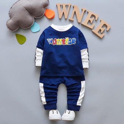Boys Clothing Sets Children Boys New Spring Autumn Sport Suit Kids Tracksuit Costume for Baby Boys Clothes Set Outfit