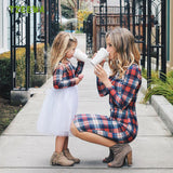 Mother Daughter Dress Summer Family Clothing Mom And Daughter Dress Family Matching Outfits Dress For Kids And Women