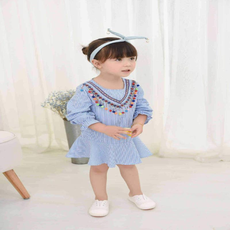 Toddler Long Sleeve Dress Kids Now Apparel