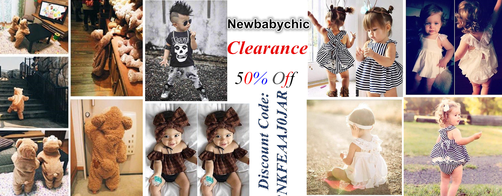 Newbabychic Clearance To Enjoy 50% Off
