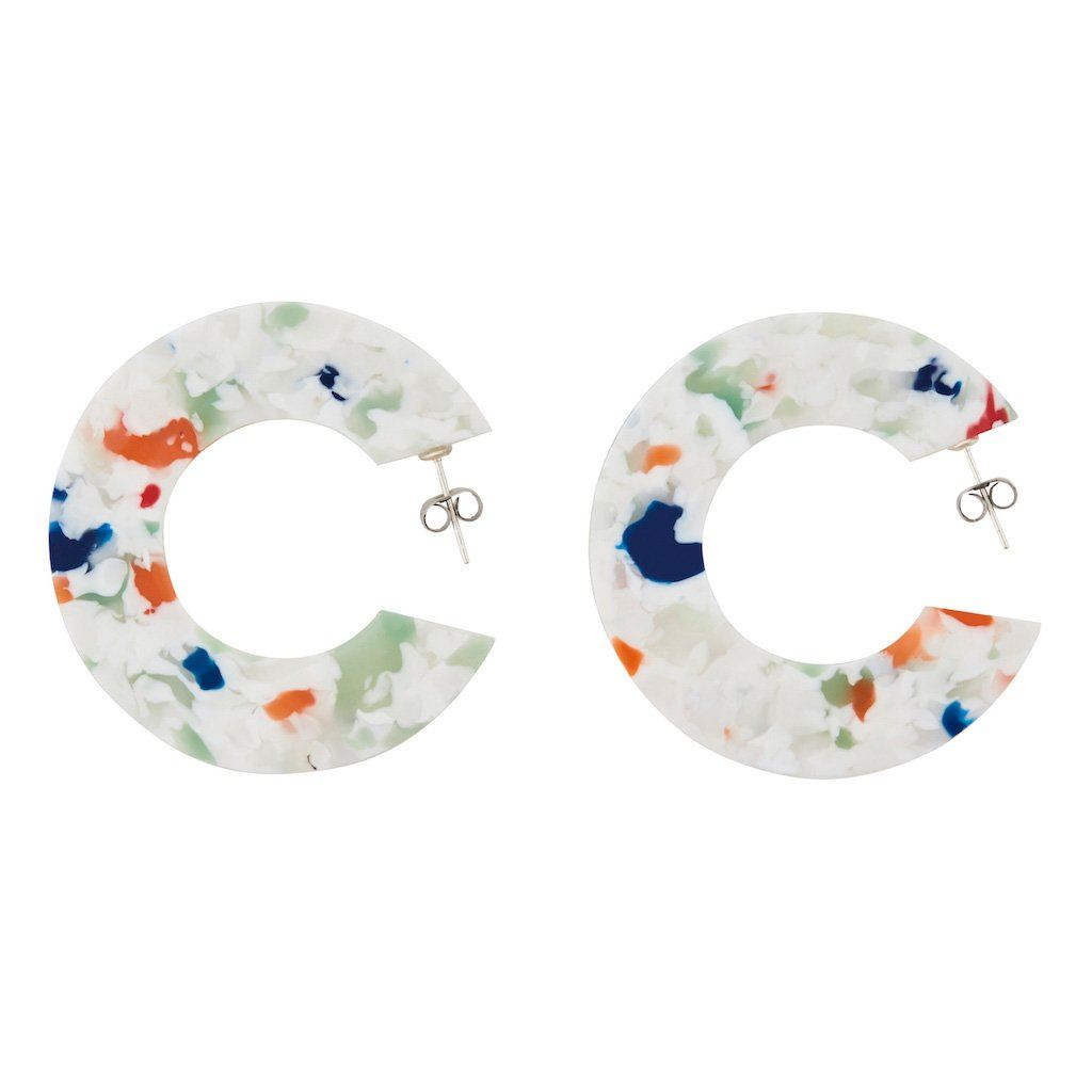 Ananda .02 earrings - Tivoli Confetti Hoops AYM
