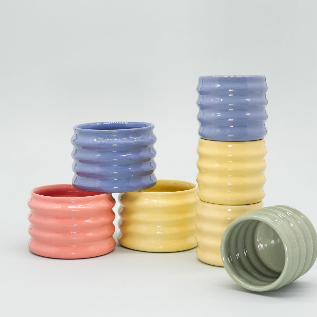 Mini grip cup green Cups Severj Studio