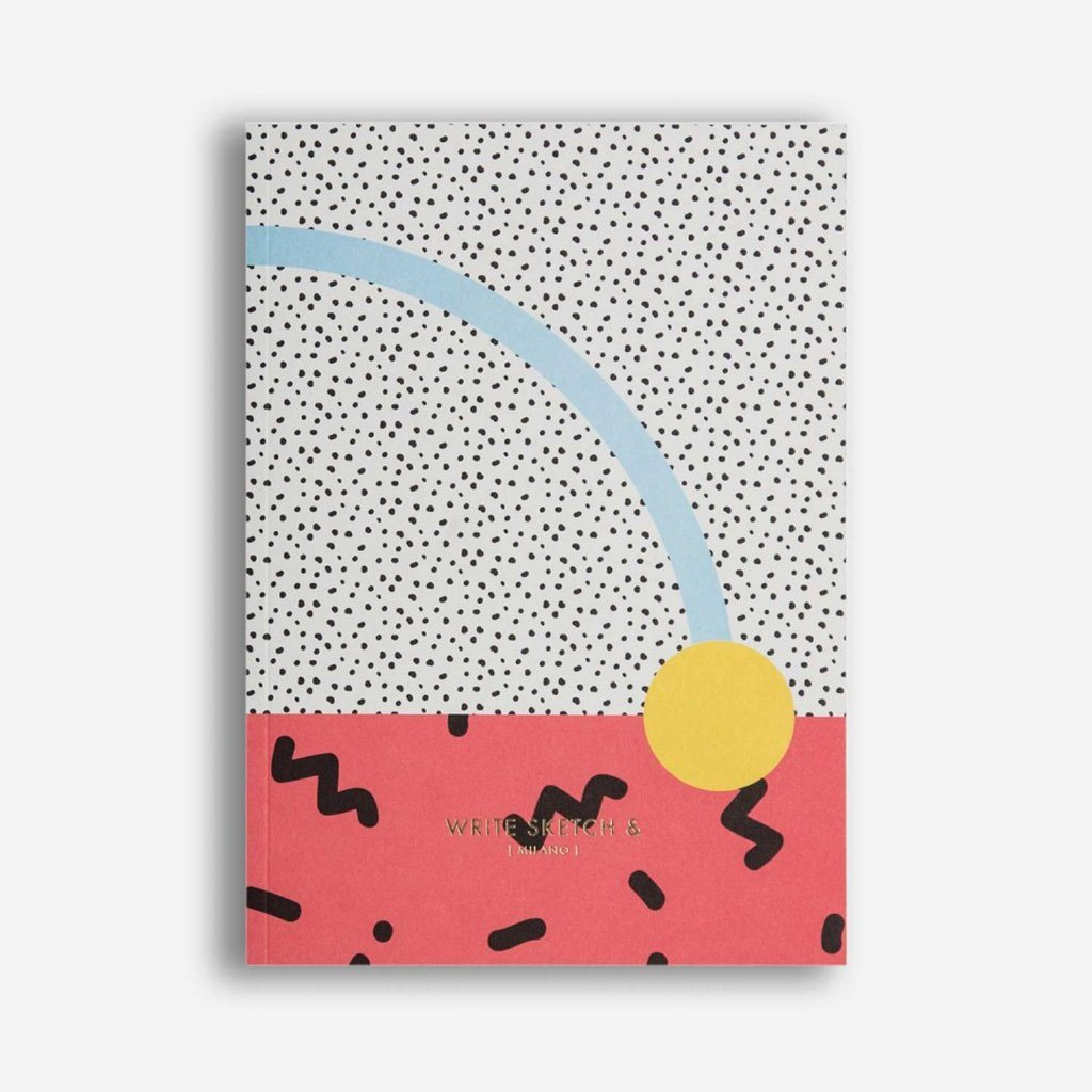 Super confetti notebook Notebook Write Sketch And