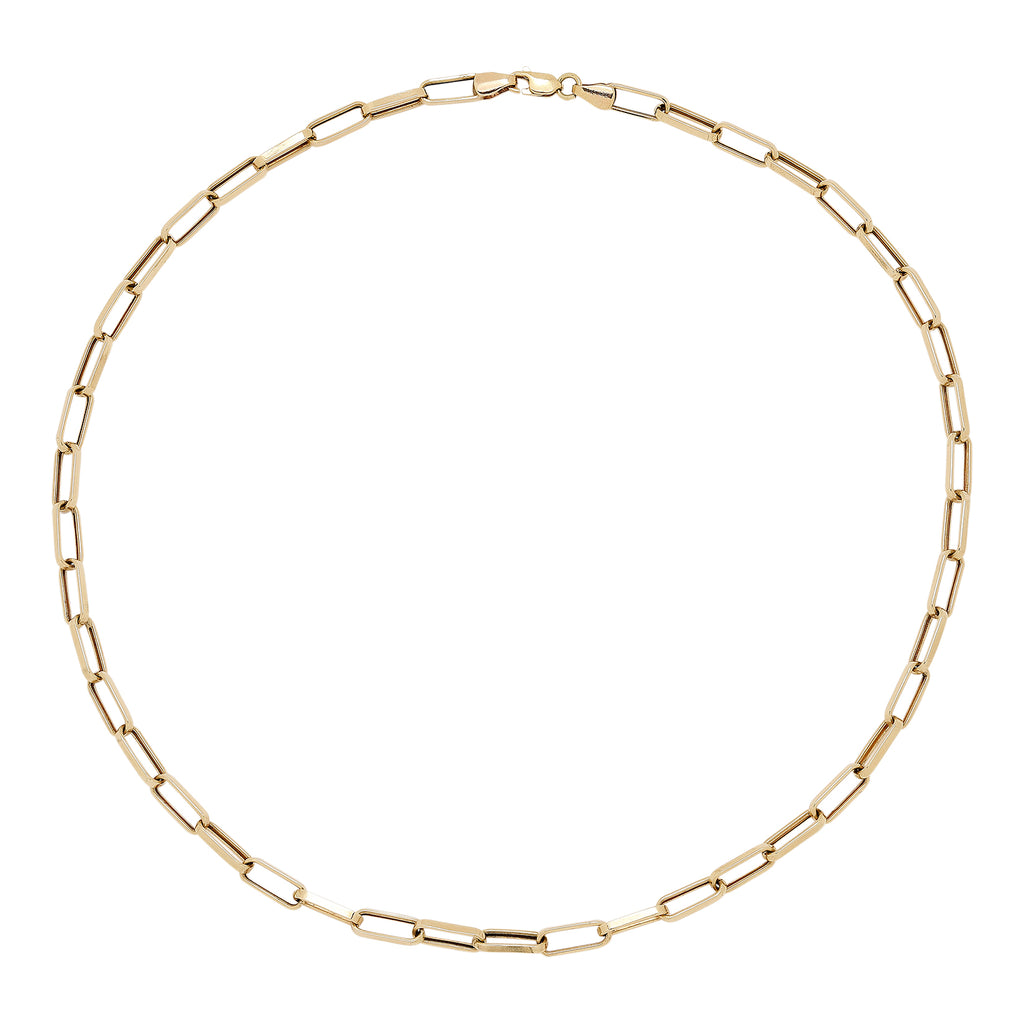 Maisonirem 14K Solid Gold Chain Charm Fine jewelry
