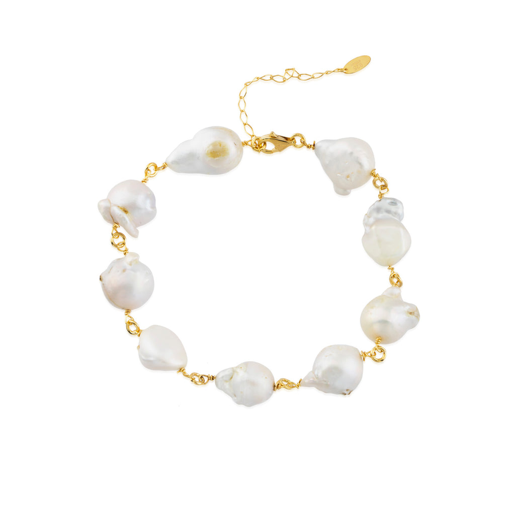 Maisonirem Ankelet and Bracelet Pearl Twist Bracelets