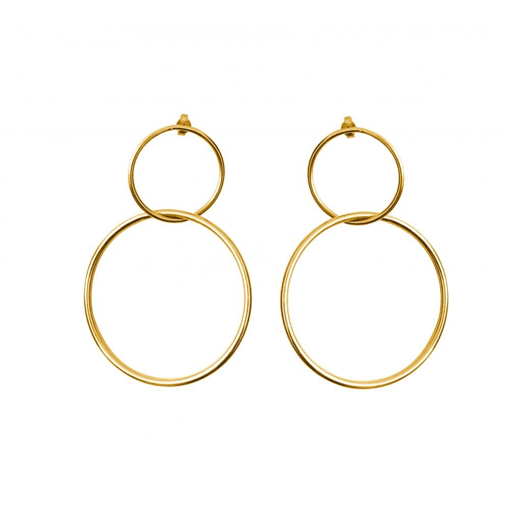 Maisonirem Big Circles Leon Earrings