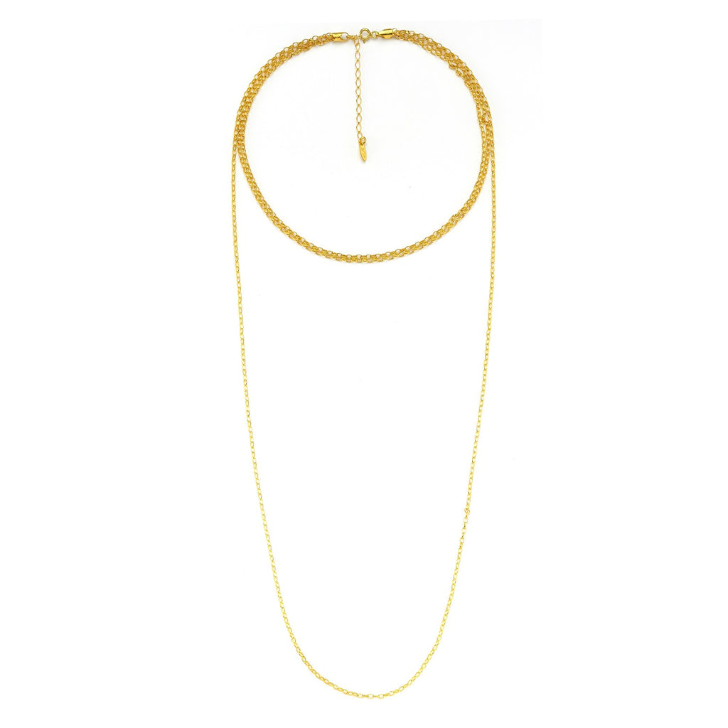 Maisonirem Chain Triple Necklace Necklaces