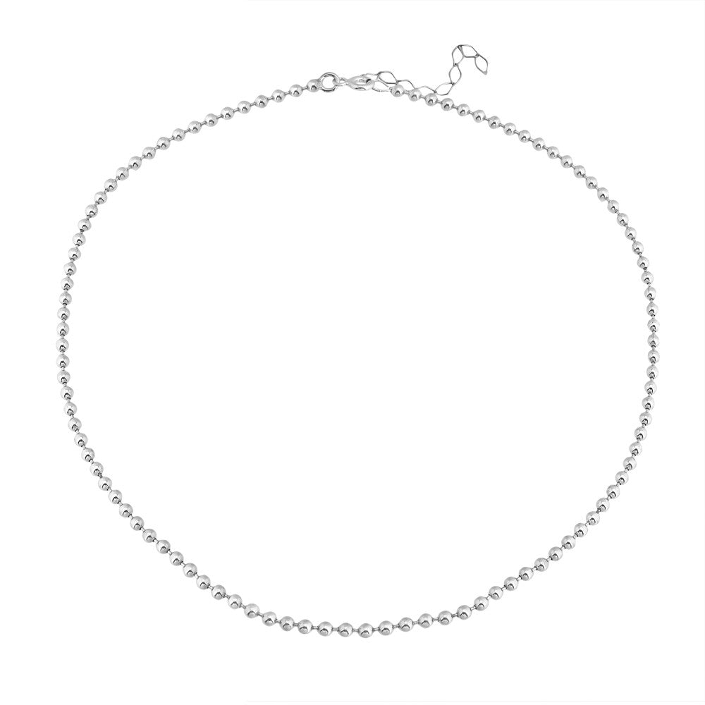 Maisonirem Choker Ball Chain Necklaces