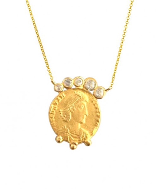 Maisonirem Coin Likya Necklace Necklaces