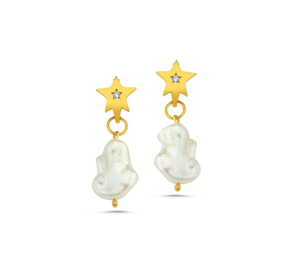 Maisonirem Earrings Pearl Dream Earrings Gold