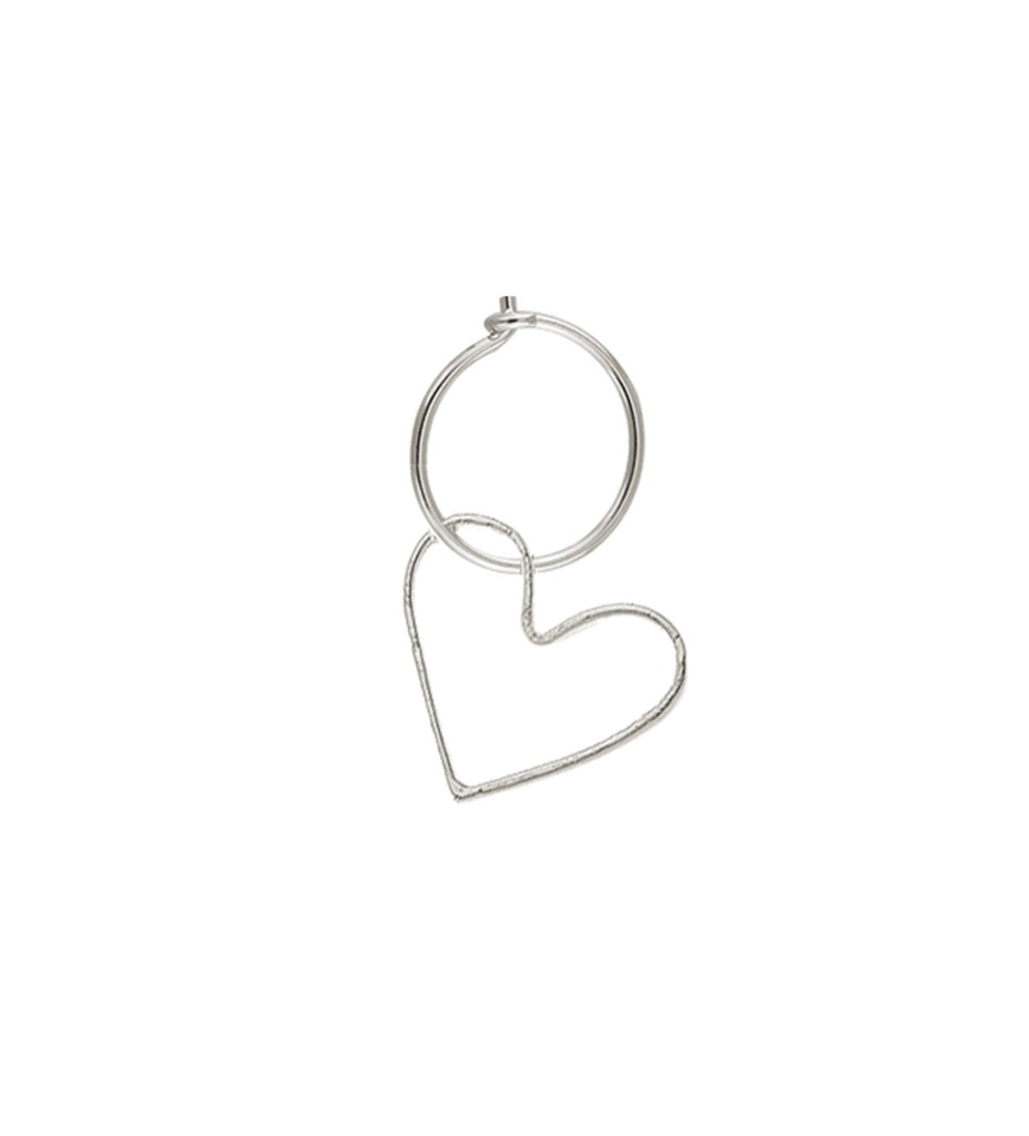 Maisonirem Hoop Open Heart Fine jewelry