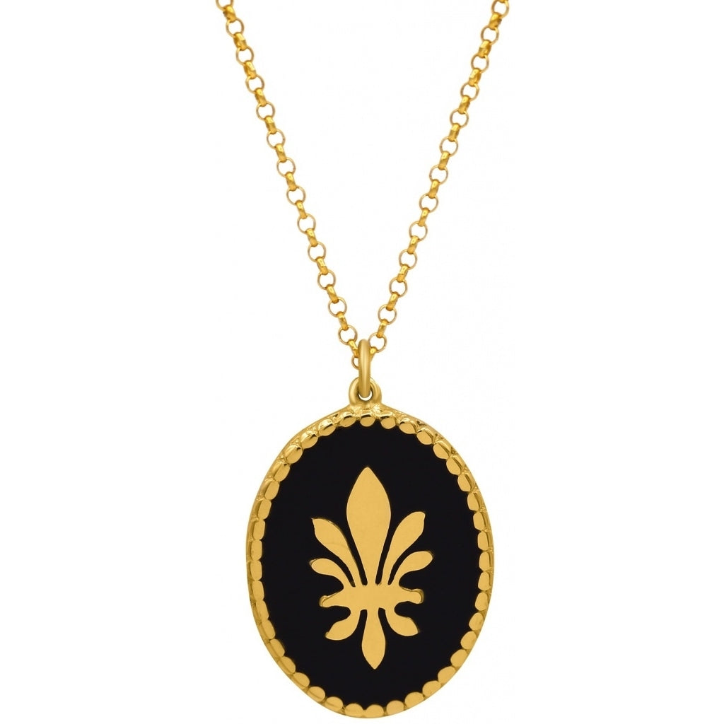 Maisonirem Lotus Necklace Necklaces Gold