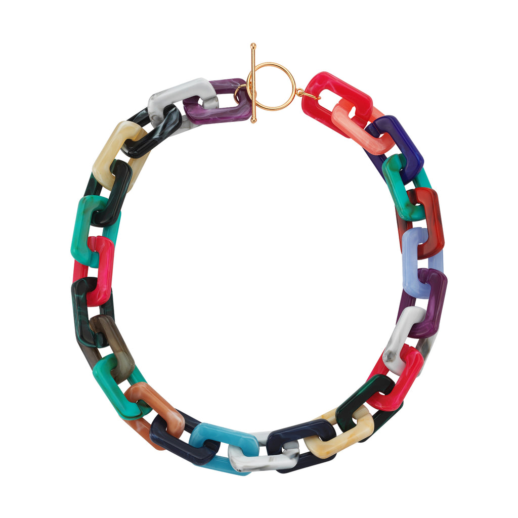 Maisonirem Necklace Colorful Necklaces Mix colors