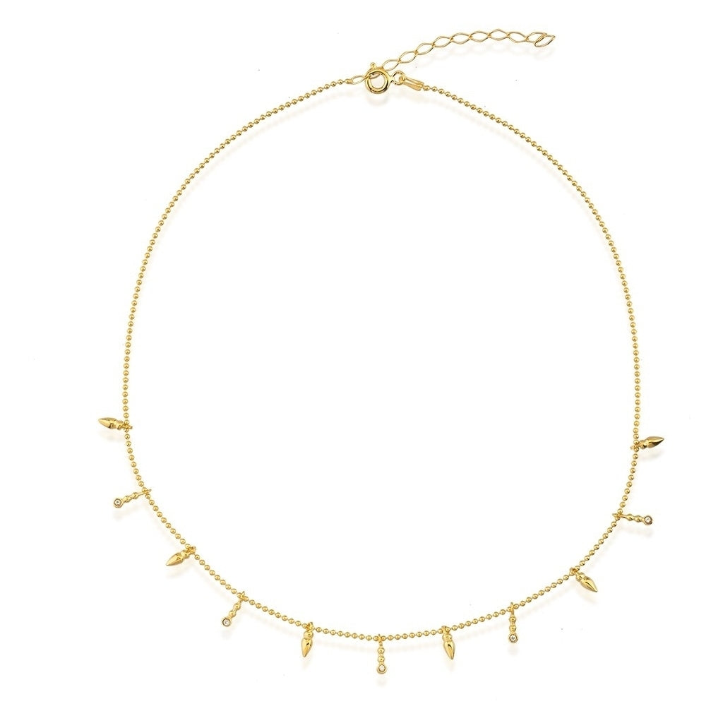 Maisonirem Necklace Choker ivy Necklaces Gold