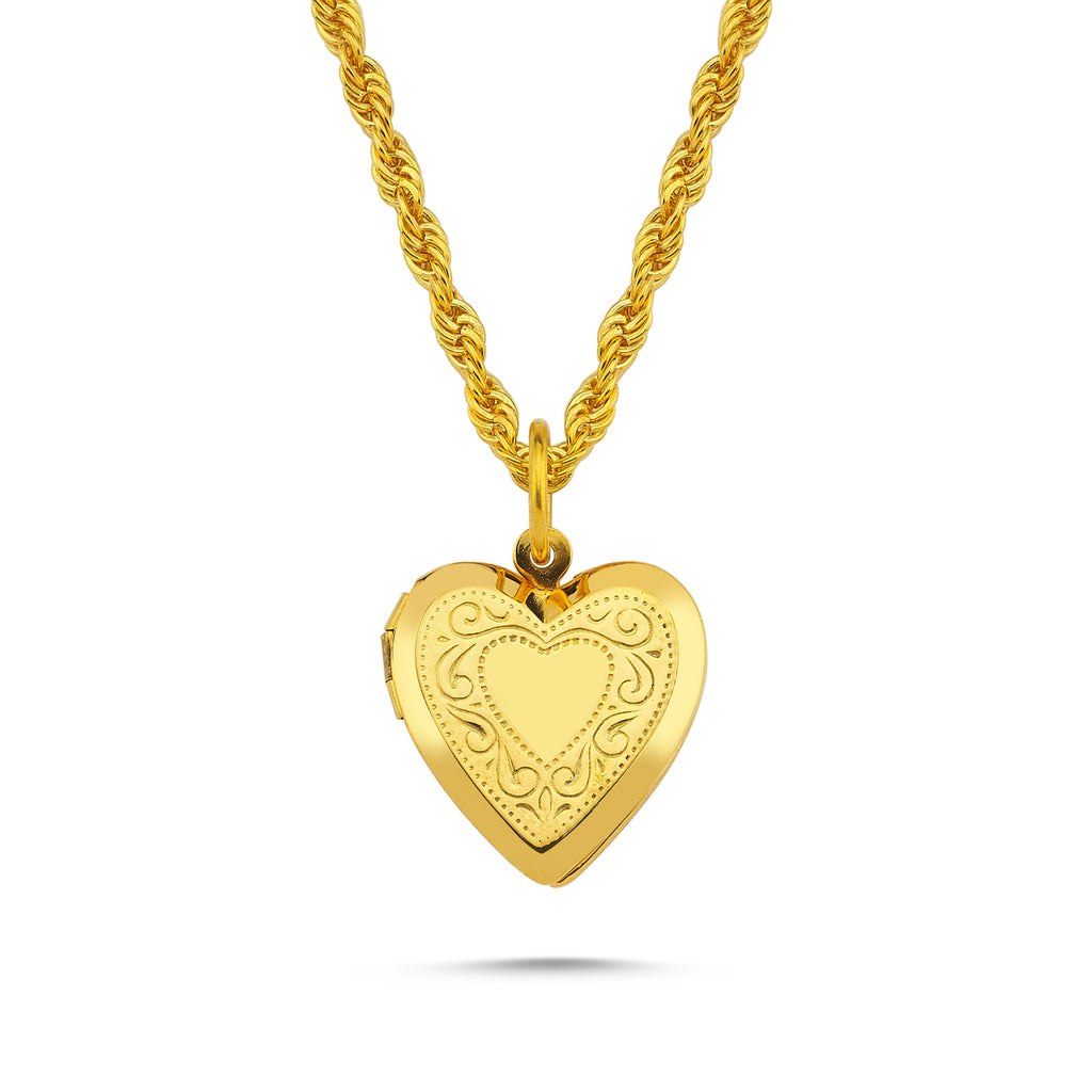 Maisonirem Necklace Heart Locket Darling Necklaces Gold