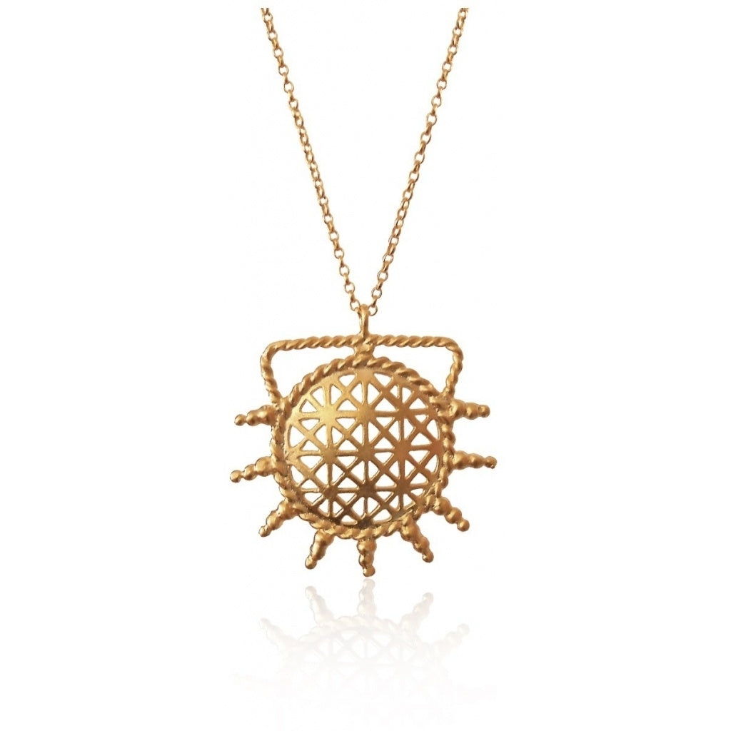 Maisonirem Necklace Hitit Sun Necklaces Gold