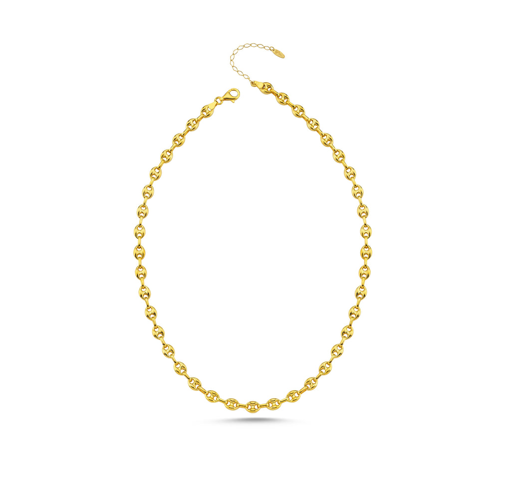 Maisonirem Necklace Mariner Chain Calum Necklaces Gold