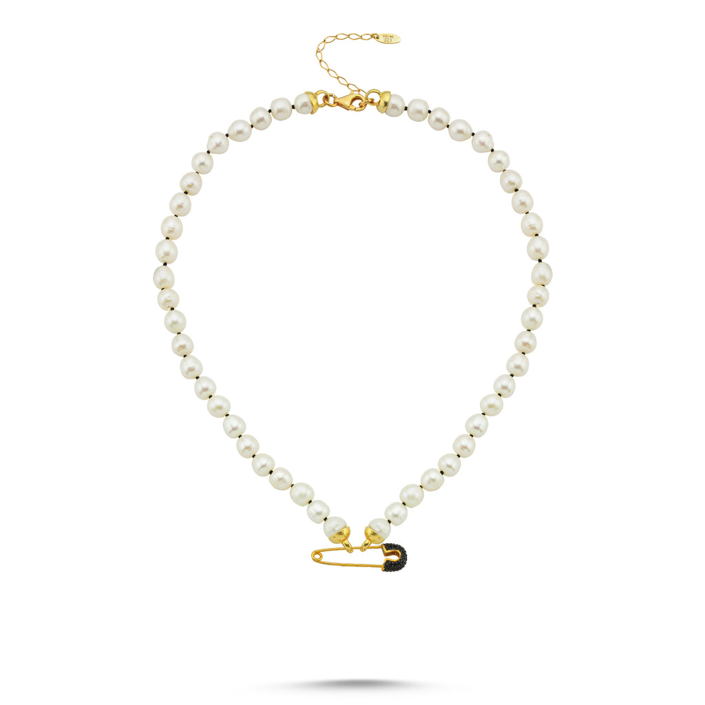 Maisonirem Necklace Pearl Goldy Jazz Necklaces Gold