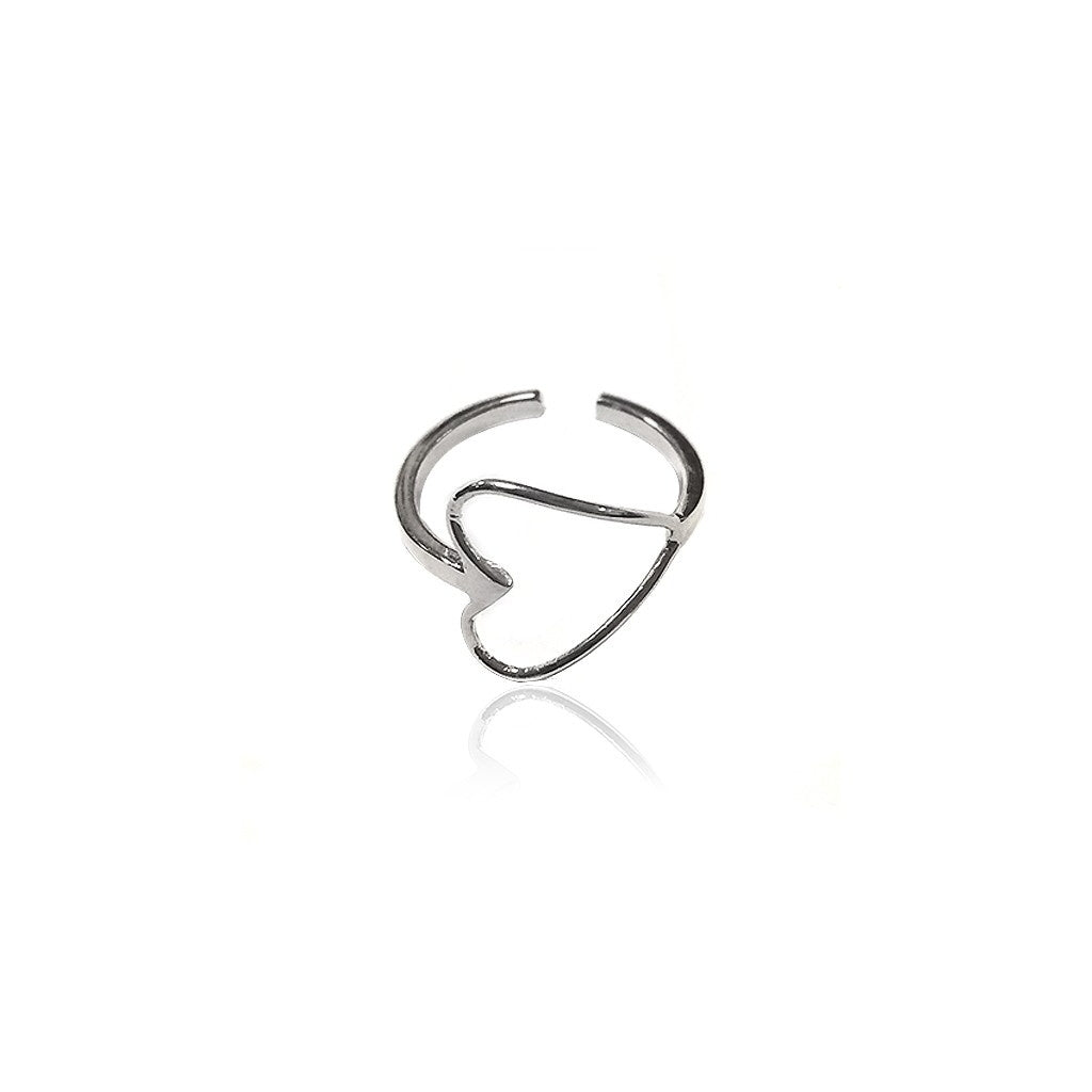 Maisonirem Open Heart Ring Rings Silver