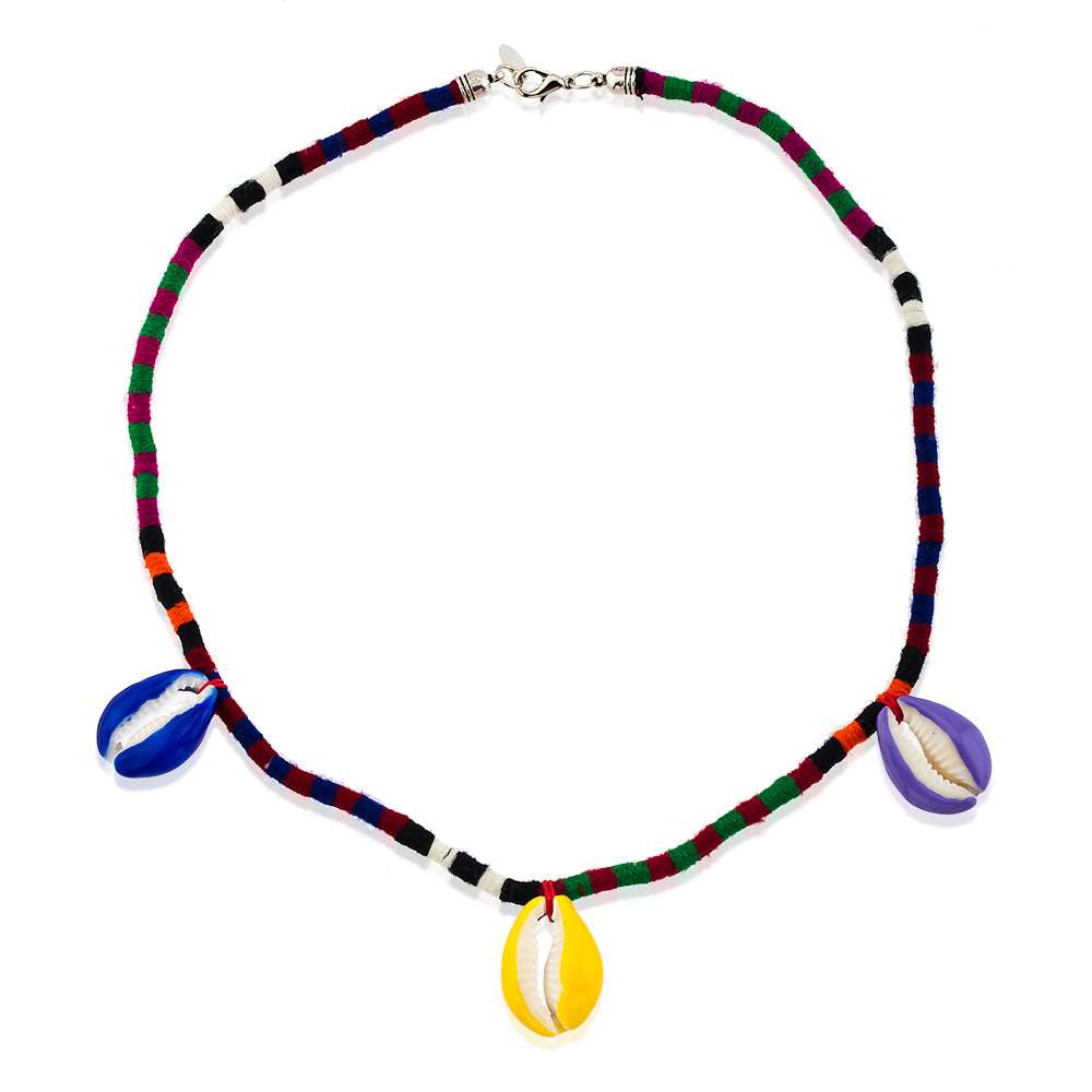 Maisonirem Pino Colored Single  Necklace Necklaces colorful shells