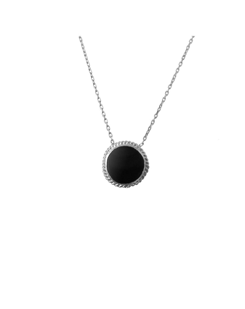 Maisonirem Round Onyx necklace Necklaces
