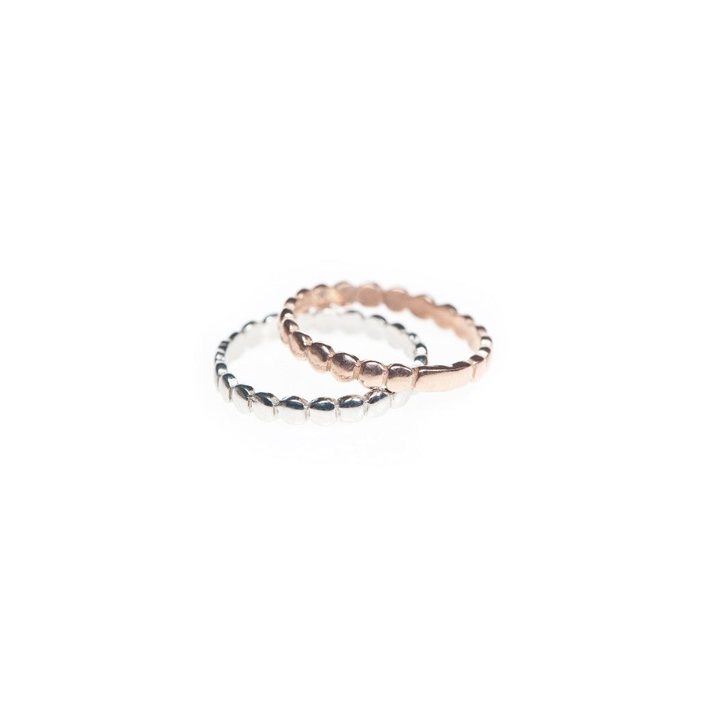 Maisonirem Stack Aura Ring Rings Silver