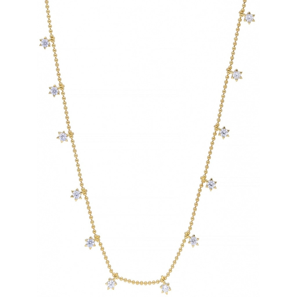 Maisonirem Star Choker Necklaces Gold