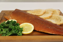 Load image into Gallery viewer, Smoked Arctic Char 1/2LB