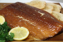 Load image into Gallery viewer, Smoked Atlantic Salmon 1/2LB