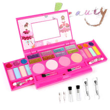 Load image into Gallery viewer, AMOSTING Pretend Makeup for Girls Play Cosmetic Set Make Up Toys Kit Gifts for Kids