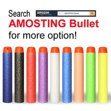 Load image into Gallery viewer, AMOSTING 300 PCS 2.84in (7.2cm) Foam Darts Universal Standard RefillRound Head Bullet Pack for Most Nerf N-strike Elite Series Blasters Toy Hand Gun - Blue