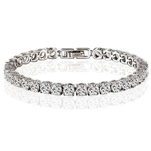 Diamond Eternity Tennis Bracelet 50% Off Today-Doremon store-LILLY OUTFITS