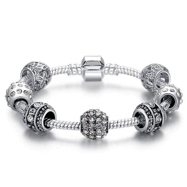 Elegant Crystal Charm Bracelet 50% Off Today-Doremon store-LILLY OUTFITS