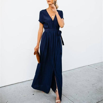Women Summer Casual OL Dress 2019